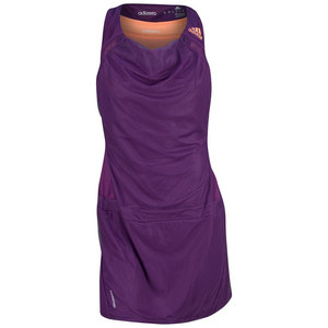 adidas WOMENS ADIZERO TENNIS DRESS TRIBE PURPLE