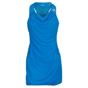 adidas WOMENS ADIZERO TENNIS DRESS SOLAR BLUE