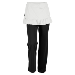 adidas WOMENS FLEUR SKIRT PANT BLACK/PEAL GRAY