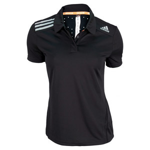 adidas WOMENS CLIMA CHILL TENNIS POLO BLACK