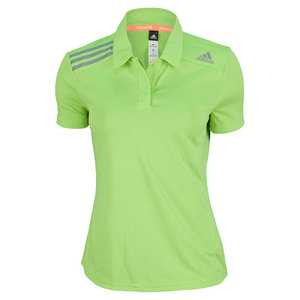 adidas WOMENS CLIMA CHILL POLO SOLAR SLIME