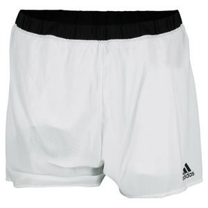 adidas WOMENS TENNIS SEQUEN CORE SHORT WH/BK