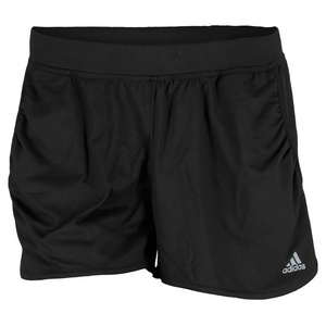 adidas WOMENS FLEUR MINI TENNIS SHORT BLACK