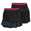 Women`s Fleur Reversible Tennis Skirt Black Night Shade by ADIDAS