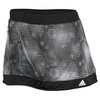 Women`s Galaxy Print Tennis Skort Black and White by ADIDAS