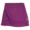 ADIDAS Women`s Tennis Sequencials Classical 12 Inch Tennis Skort Tribe Purple