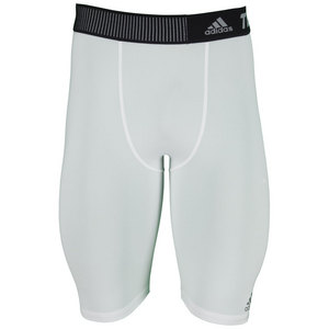 adidas MENS TECHFIT BASE SHORT TIGHT WHITE