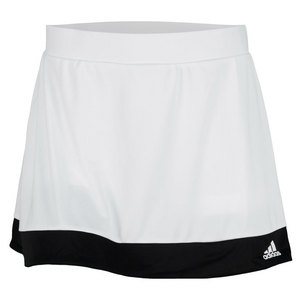 adidas WOMENS GALAXY TENNIS SKORT WHITE/BLACK