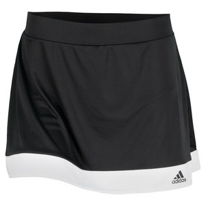 adidas WOMENS GALAXY TENNIS SKORT BLACK/WH