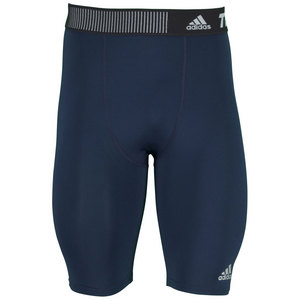 adidas MENS TECHFIT BASE SHORT TIGHT COLL NAVY