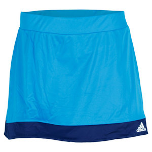 adidas WOMENS GALAXY TENNIS SKORT SOLAR BLUE