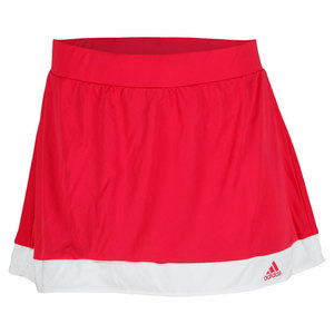 adidas WOMENS GALAXY TENNIS SKORT VIVID BERRY