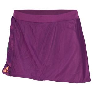 adidas WOMENS ADIZERO 12 IN SKORT TRIBE PURPLE