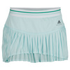 ADIDAS Women`s Stella McCartney Barricade 11 Inch Tennis Skort Fresh Aqua