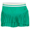 ADIDAS Women`s Stella McCartney Barricade 11 3/4 Inch Tennis Skort Signal Green