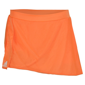 adidas WOMENS ADIZERO 11 IN SKORT GLOW ORANGE