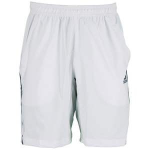 adidas MENS ADIPR BARRICD 9.5IN SHORT WHITE