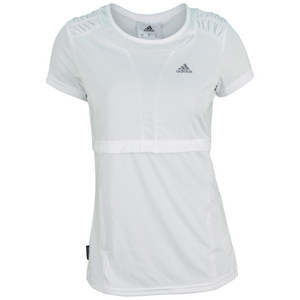 adidas WOMENS FLEUR SHORT SLEEVE TENNIS TEE WH