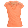 ADIDAS Women`s Adizero Cap Sleeve Tennis Top Glow Orange
