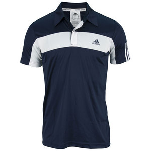 adidas MENS GALAXY POLO COLLEGIATE NAVY/WHITE
