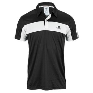 adidas MENS GALAXY POLO BLACK/WHITE