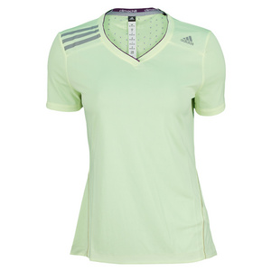 adidas WOMENS CLIMA CHILL TENNIS TEE GLOW