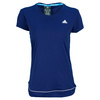 Women`s Galaxy Tennis Tee Night Blue by ADIDAS