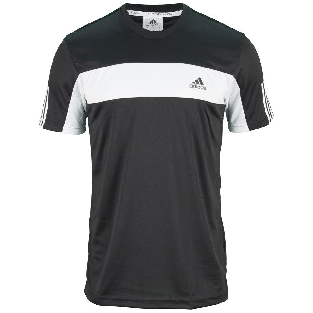 Men's Galaxy Tennis Tee Black And White
