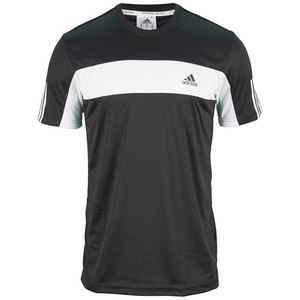 adidas MENS GALAXY TEE BLACK/WHITE