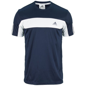 adidas MENS GALAXY TEE COLLEGIATE NAVY/WHITE