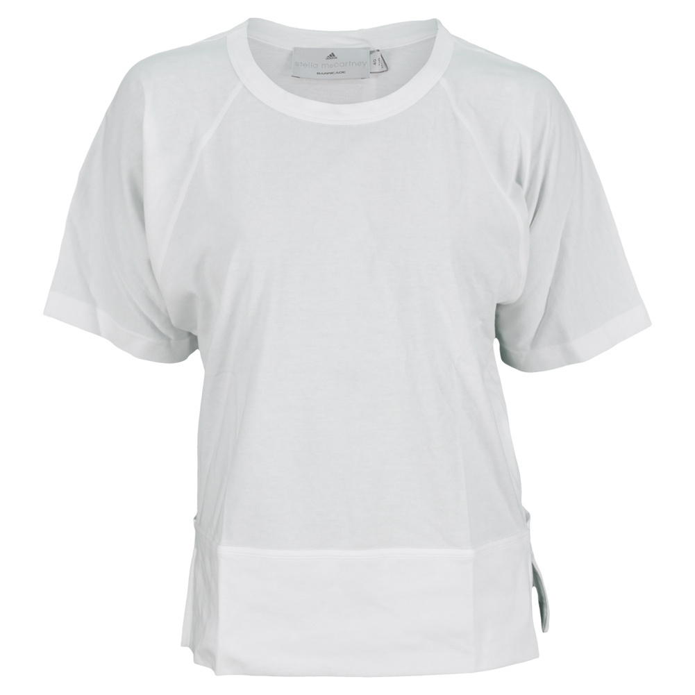 Women's Stella Mccartney Barricade Practice Tennis Tee White