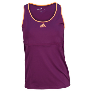 adidas WOMENS TENNIS SEQUENC CLAS TANK PURPLE