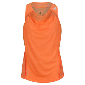 adidas WOMENS ADIZERO TENNIS TANK GLOW ORANGE