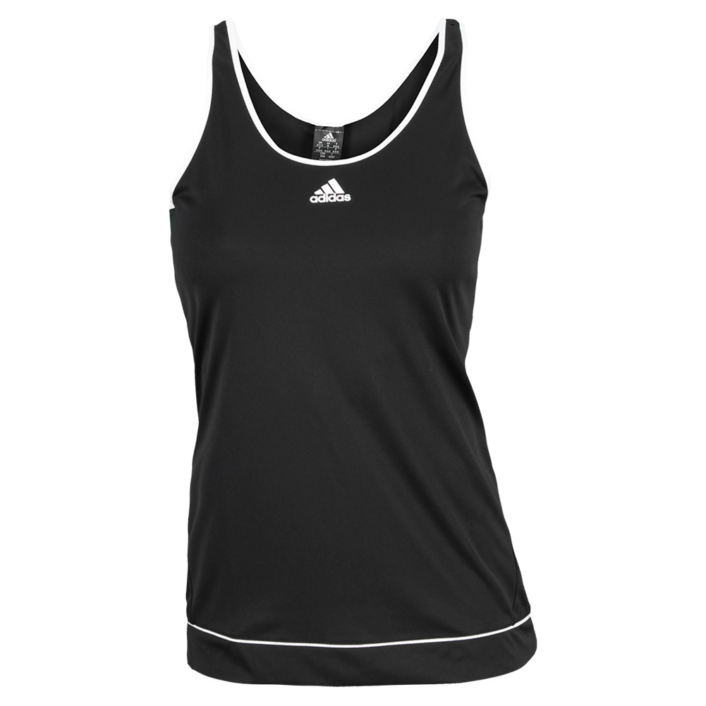 Women`s Galaxy Tennis Tank Black