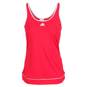 adidas WOMENS GALAXY TENNIS TANK VIVID BERRY