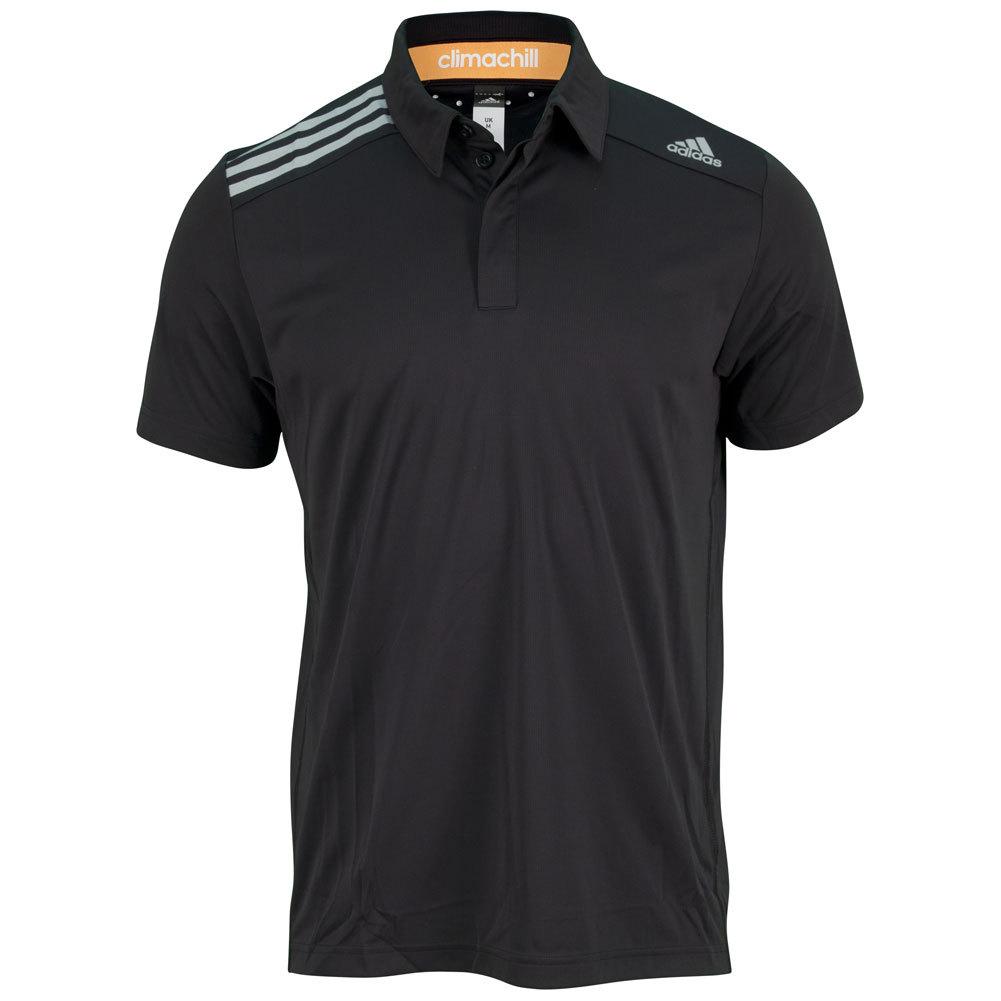 Men's Clima Chill Tennis Polo Black