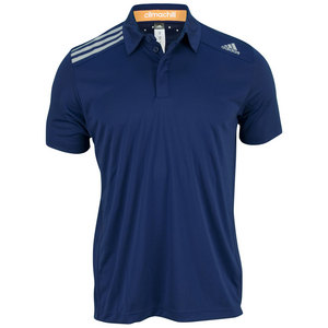 adidas MENS CLIMA CHILL TENNIS POLO NIGHT BLUE