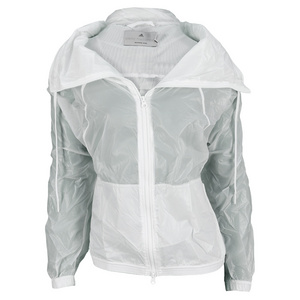 adidas WOMENS STELLA BARR WARM UP JACKET WHITE
