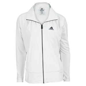 adidas WOMENS CORE WARM UP JACKET WHITE