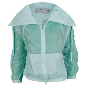 adidas WOMENS STELLA BARR WARM UP JACKET AQUA