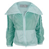 ADIDAS Women`s Stella McCartney Barricade Warm Up Tennis Jacket Fresh Aqua