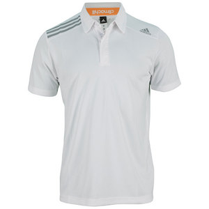 adidas MENS CLIMA CHILL TENNIS POLO WHITE
