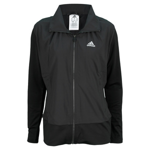adidas WOMENS CORE WARM UP JACKET BLACK