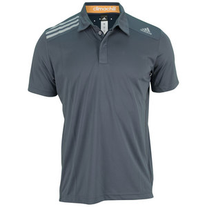 adidas MENS CLIMA CHILL TENNIS POLO DARK ONIX