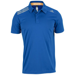 adidas MENS CLIMA CHILL POLO BLUE BEAUTY