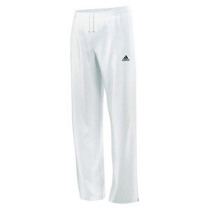 adidas WOMENS CORE WARM UP TENNIS PANT WHITE