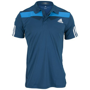adidas MENS ADIPR BARR TRADITNL POLO TRIBE BLUE