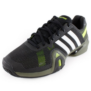 adidas MENS ADIPOWER BARRICADE 8 SHOES BLACK/WH