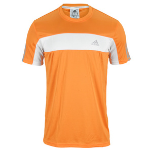 adidas MENS GALAXY TEE BAHIA ORANGE/WHITE