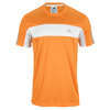 ADIDAS Men`s Galaxy Tennis Tee Bahia Orange and White